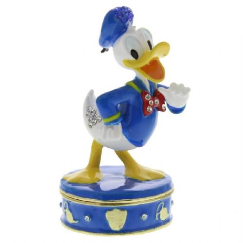 Donald Duck Collectable Figure Trinket Box - Disney Trinket Gifts for Special Occasions